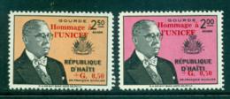 Haiti 1960 UNICEF Opt MUH Lot35855 - Haiti
