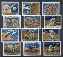 Haiti 1973 Space Exploration CTO - Haiti