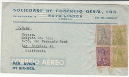 Angola / Ceres / Airmail / U.S. - Angola