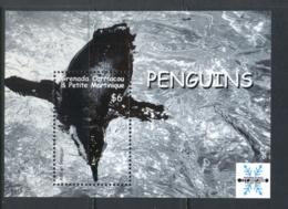 Grenada Carriacou & Petite Martinique 2008 Intl. Polar Year Penguin MS MUH - Grenada (1974-...)