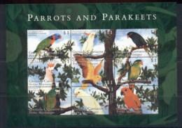 Grenada Carriacou & Petite Martinique 2009? Birds, Parrots & Parakeets MS MUH - Grenada (1974-...)