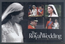 Grenada Carriacou & Petite Martinique 2011 Royal Wedding William & Kate #1114 $2.75 MS MUH - Grenada (1974-...)