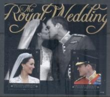 Grenada Carriacou & Petite Martinique 2011 Royal Wedding William & Kate #1114 $3 MS MUH - Grenada (1974-...)