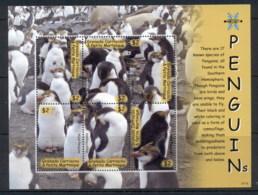 Grenada Carriacou & Petite Martinique 2015 Birds, Penguins MS MUH - Grenada (1974-...)
