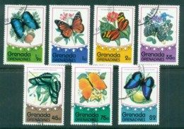 Grenada Grenadines 1975 Butterflies (7) CTO - Grenada (1974-...)