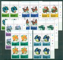 Grenada Grenadines 1975 Butterflies (Blks4) CTO - Grenada (1974-...)
