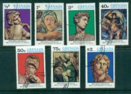 Grenada Grenadines 1975 Michelangelo (7) CTO - Grenada (1974-...)