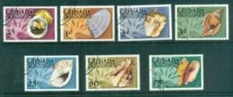 Grenada Grenadines 1975 Shells (7) CTO - Grenada (1974-...)