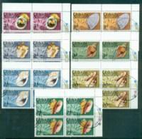 Grenada Grenadines 1975 Shells (Blks4) CTO - Grenada (1974-...)