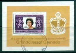 Grenada Grenadines 1978 QEII Coronation 25th Anniv, Royalty MS MUH - Grenada (1974-...)