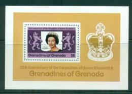 Grenada Grenadines 1978 QEII Coronation, 25th Anniversary , Royalty MS MUH - Grenada (1974-...)