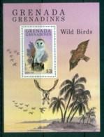 Grenada Grenadines 1980 Wild Birds, Barn Owl MS MUH - Grenada (1974-...)