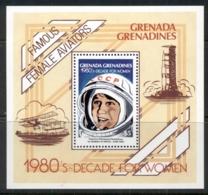 Grenada Grenadines 1981 Valentina Tereshkova First Woman In Space MS MUH - Grenada (1974-...)
