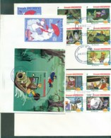 Grenada Grenadines 1982 Disney, The Rescuers 3x FDC Lot78927 - Grenada (1974-...)