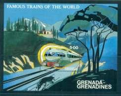 Grenada Grenadines 1982 Trains MS MUH Lot51937 - Grenada (1974-...)