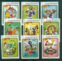 Grenada Grenadines 1983 Disney, Xmas, Jingle Bells MUH Lot77484 - Grenada (1974-...)