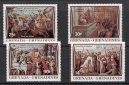 Grenada Grenadines 1983 Raphael 500th, Paintings MUH - Grenada (1974-...)