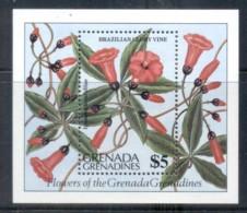 Grenada Grenadines 1984 Flowers MS MUH - Grenada (1974-...)