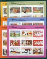 Grenada Grenadines 1988 Disney, Fairy Tales,6x Sheetlets MUH Lot79013 - Grenada (1974-...)