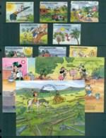 Grenada Grenadines 1991 Disney, Save Our Planet + 3xMS FU Lot80078 - Grenada (1974-...)