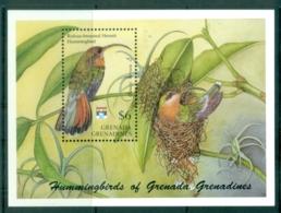 Grenada Grenadines 1992 Hummingbirds, Hermit Bird MS MUH - Grenada (1974-...)