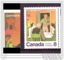 Canada, 1976, #695-696, Horlogerie, Horloge, Clock, Pompe à Eau, Water Pump - Horlogerie