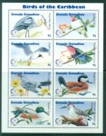 Grenada Grenadines 1995 Birds, Singapore '95 Sheetlet MUH - Grenada (1974-...)