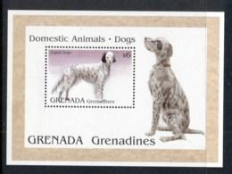 Grenada Grenadines 1995 Domestic Animals, Dogs MS MUH - Grenada (1974-...)