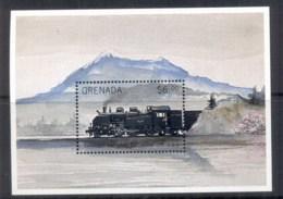 Grenada Grenadines 1999 The World Of Trains MS MUH - Grenada (1974-...)