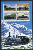 Grenada Grenadines 1999 The World Of Trains MS4 MUH - Grenada (1974-...)