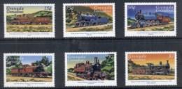 Grenada Grenadines 1999 The World Of Trains MUH - Grenada (1974-...)