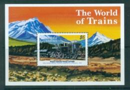 Grenada Grenadines 1999 World Of Trains MS MUH - Grenada (1974-...)