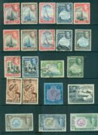 Bermuda 1938 On KGVI Assorted Oddmens MLH/FU Lot68182 - Bermuda
