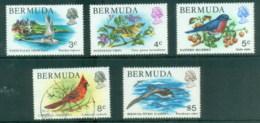 Bermuda 1978-79 Pictorials, Birds Asst MUH/FU - Bermuda