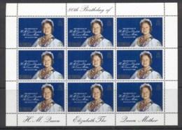 Bermuda 1980 Queen Mother 80th Birthday Sheetlet MUH - Bermuda