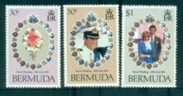 Bermuda 1981 Charles & Diana Royal Wedding MUH Lot81837 - Bermuda