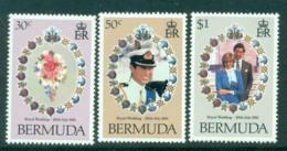 Bermuda 1981 Charles & Diana Wedding MUH Lot30290 - Bermuda