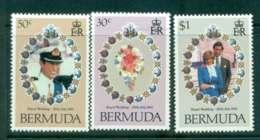 Bermuda 1981 Charles & Diana Wedding MUH Lot44802 - Bermuda