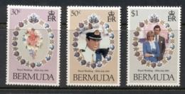 Bermuda 1981 Royal Wedding Charles & Diana MUH - Bermuda