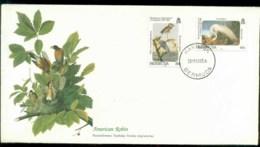 Bermuda 1985 Audubon Birds,  Franlkin Mint FDC Lot79643 - Bermuda