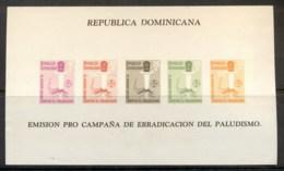 Dominican Republic 1962 WHO Anti Malaria MS MUH - Dominican Republic