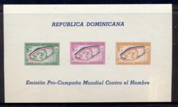 Dominican Republic 1963 FFH, FAO Surch MS MUH - Dominican Republic