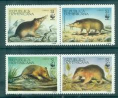 Dominican Republic 1994 WWF Hispaniolan Solenodon Prs MUH Lot76170 - Dominican Republic