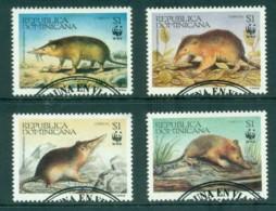 Dominican Republic 1994 WWF Solenodon Paradoxus FU MLH - Dominican Republic
