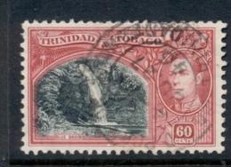 Trinidad & Tobago 1938-41 KGVI Pictorials 60c Blue Basin FU - Trinidad & Tobago (1962-...)