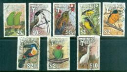Trinidad & Tobago 1990 Birds Asst FU - Trinidad & Tobago (1962-...)