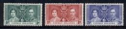 Cayman Is 1937 Coronation MLH - Iles Caïmans