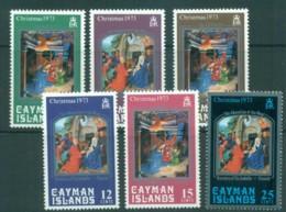 Cayman Is 1973 Xmas MUH Lot72524 - Iles Caïmans