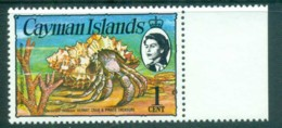 Cayman Is 1974-75 1c Hermit Crab Defin MUH Lot72530 - Cayman Islands