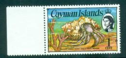 Cayman Is 1974-75 1c Hermit Crab Defin MUH Lot72568 - Cayman Islands